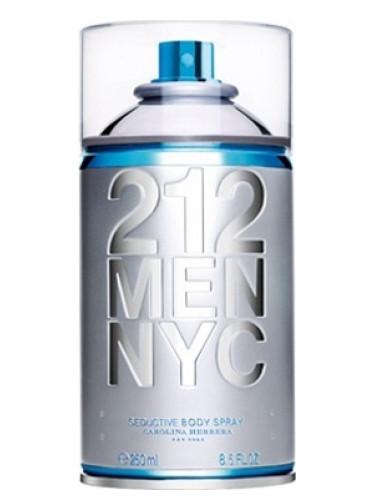 Carolina Herrera 212 Men NYC Body Spray Carolina Herrera для мужчин
