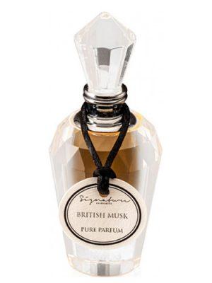 Signature Fragrances British Musk Signature Fragrances для мужчин и женщин