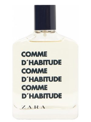 Zara Comme d'Habitude Zara для мужчин