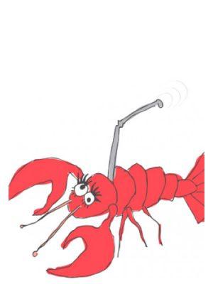 Smell Bent Lobster Cellphone Smell Bent для мужчин и женщин