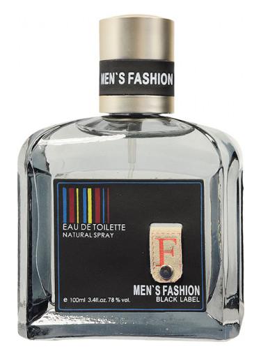 Parfums Genty Men's Fashion Black Label Parfums Genty для мужчин