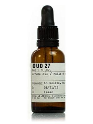 Le Labo Oud 27 Perfume Oil Le Labo для мужчин и женщин