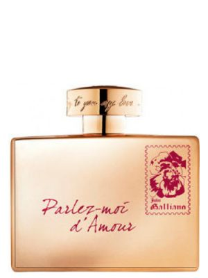 John Galliano Parlez-Moi d'Amour Gold Edition John Galliano для женщин