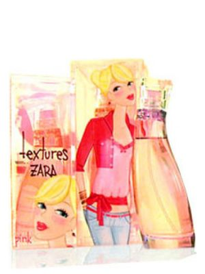 Zara Textures Pink Zara для женщин