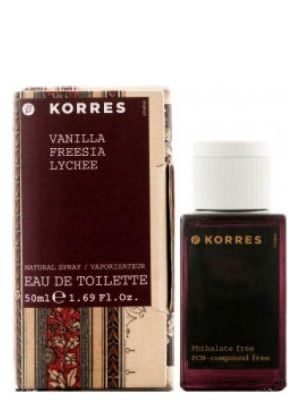 Korres Vanilla Freesia Lychee Korres для женщин