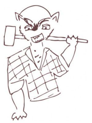 Smell Bent Werewolf Lumberjack Smell Bent для мужчин