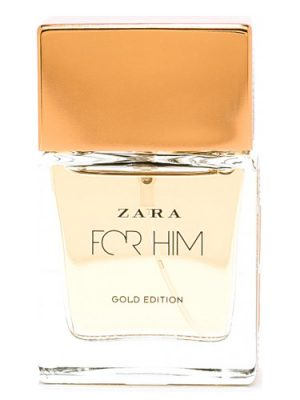 Zara Zara For Him Gold Edition Zara для мужчин