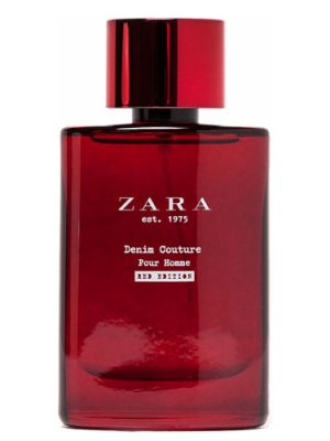 Zara Zara est 1975 Denim Couture Pour Homme Red Edition Zara для мужчин