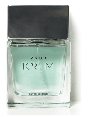 Zara Zara for Him Silver Edition Zara для мужчин
